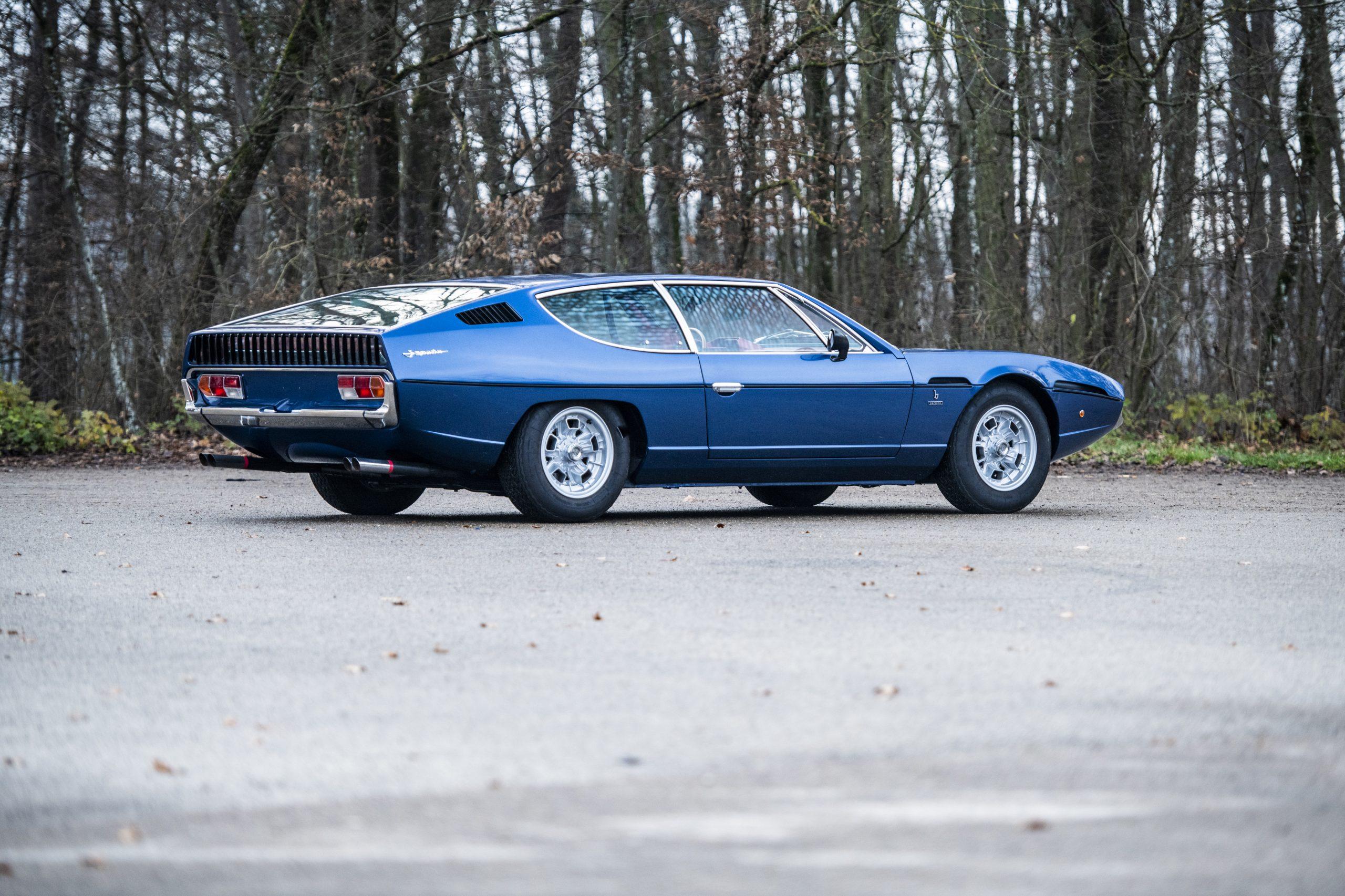 1968 Lamborghini Espada Series I by Bertone rear three-quarter