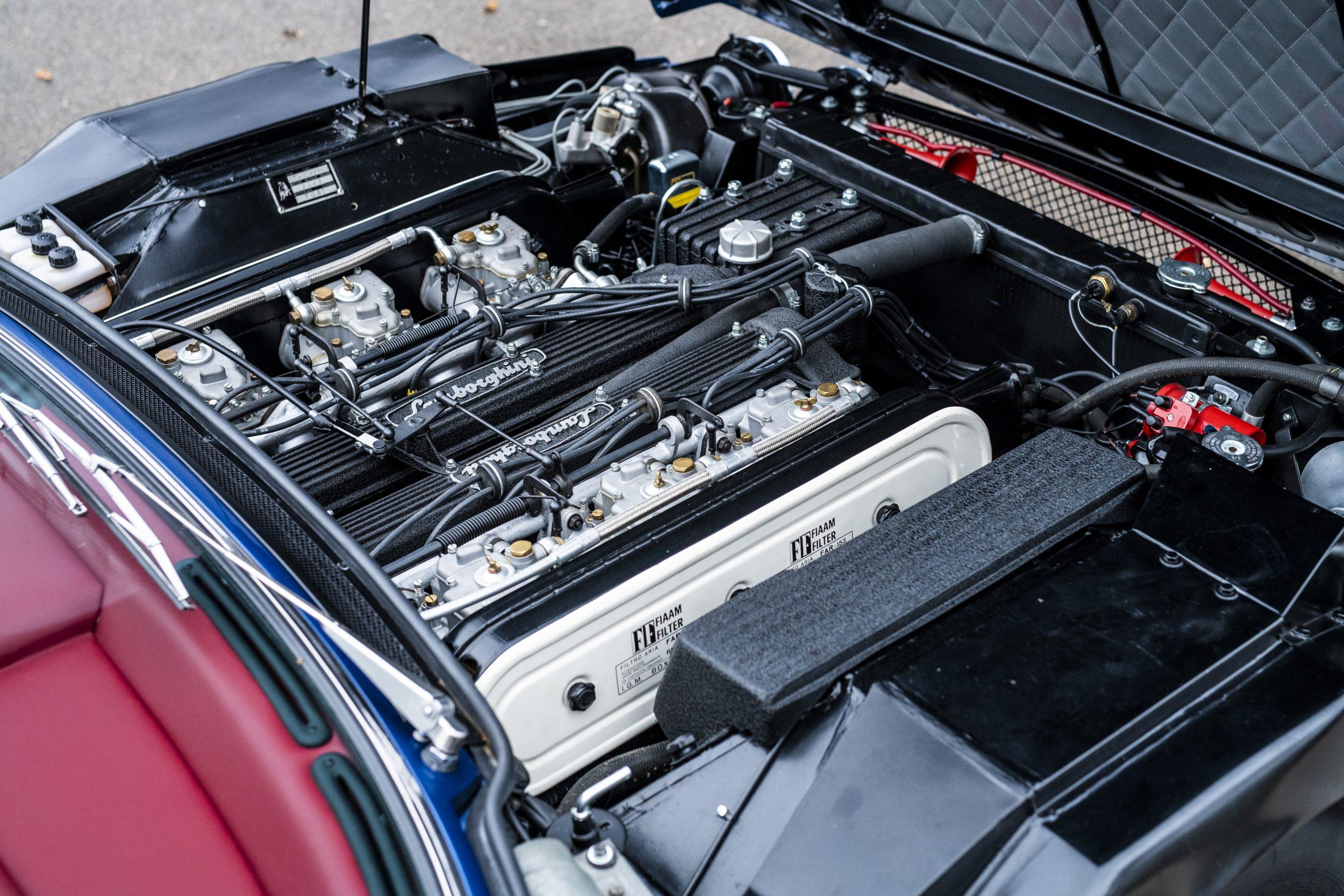 1968 Lamborghini Espada Series I by Bertone engine
