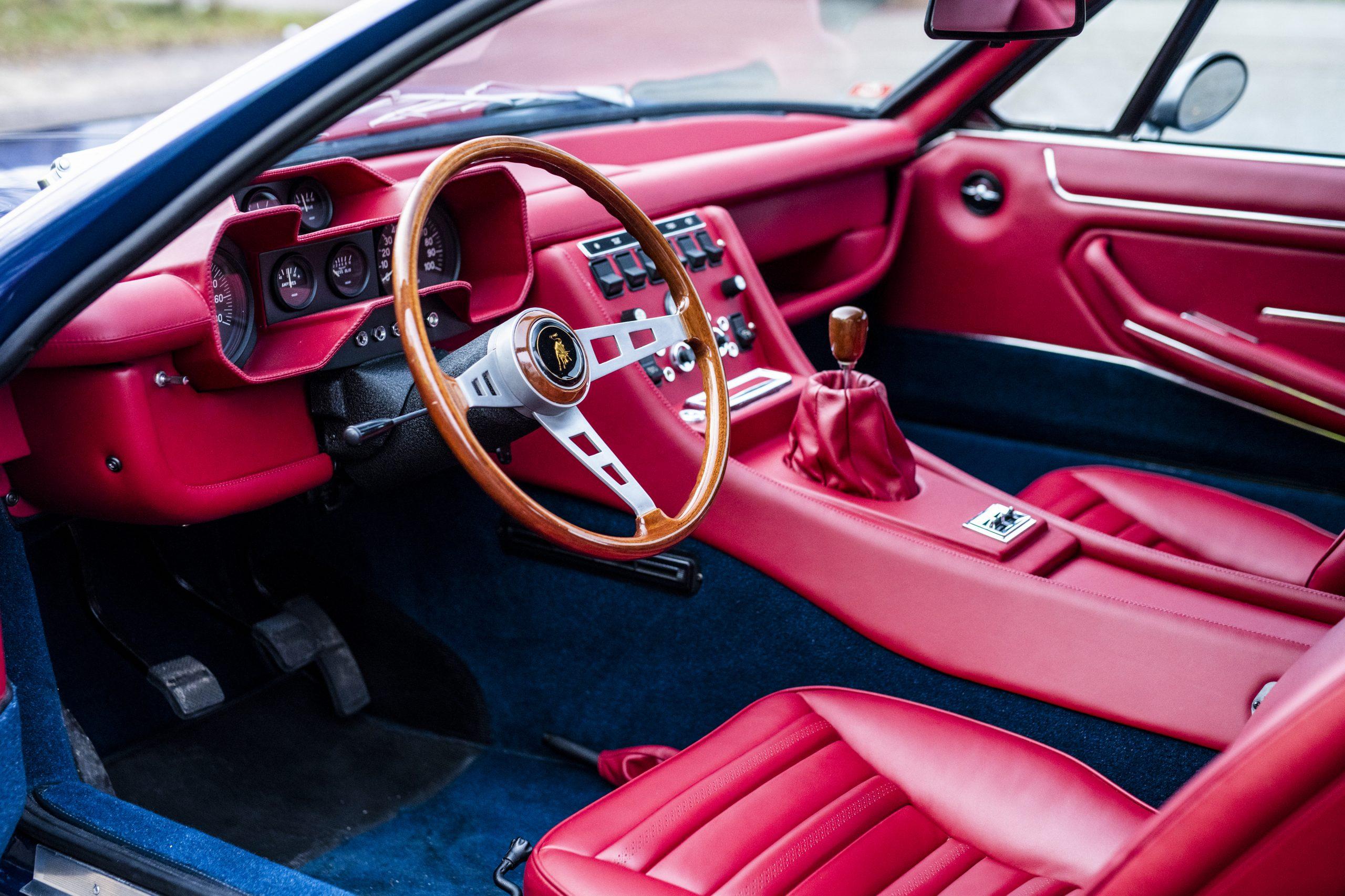 1968 Lamborghini Espada Series I by Bertone interior