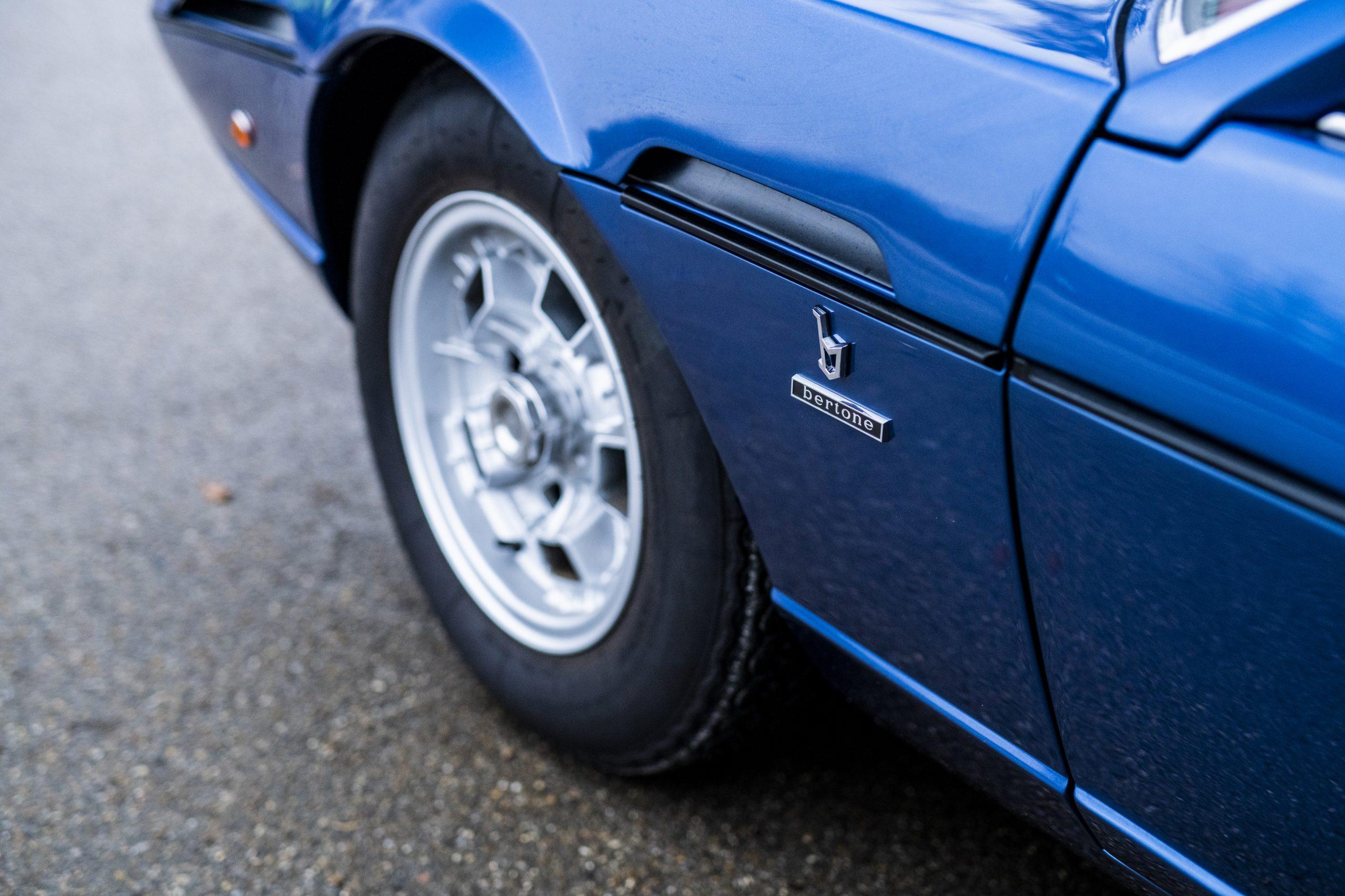 1968 Lamborghini Espada Series I by Bertone front quarter panel badge