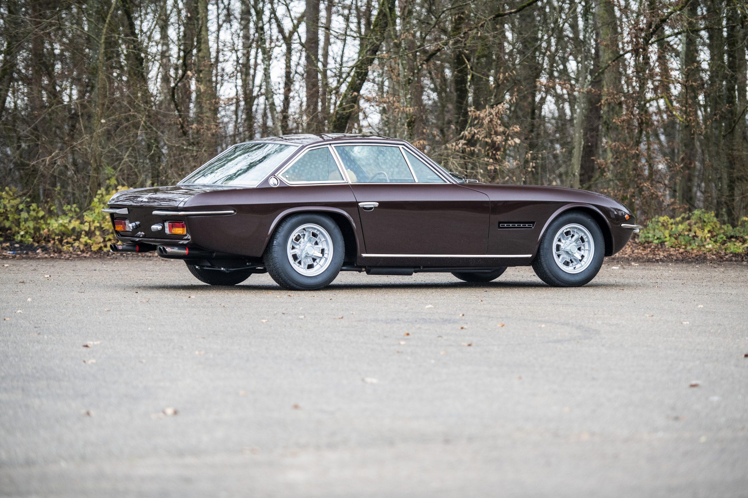 1969 Lamborghini Islero GTS rear three-quarter