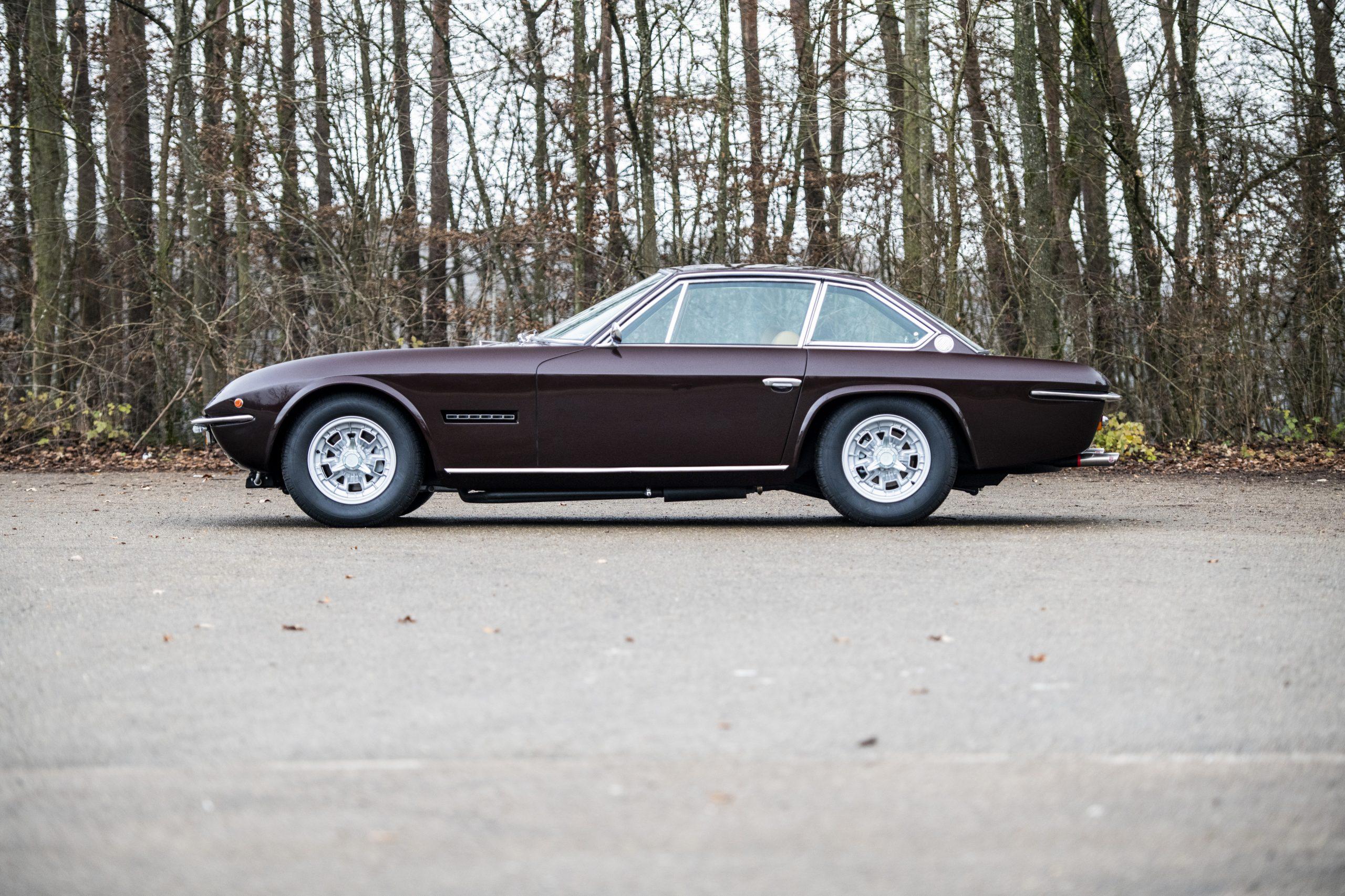 1969 Lamborghini Islero GTS side profile