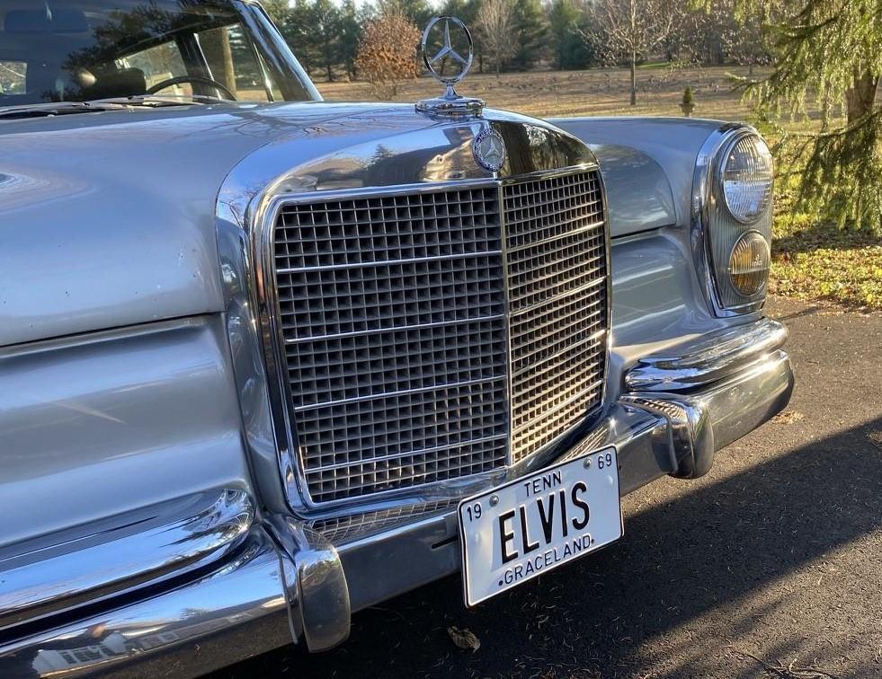 1969 Mercedes-Benz 600 Elvis car front grille
