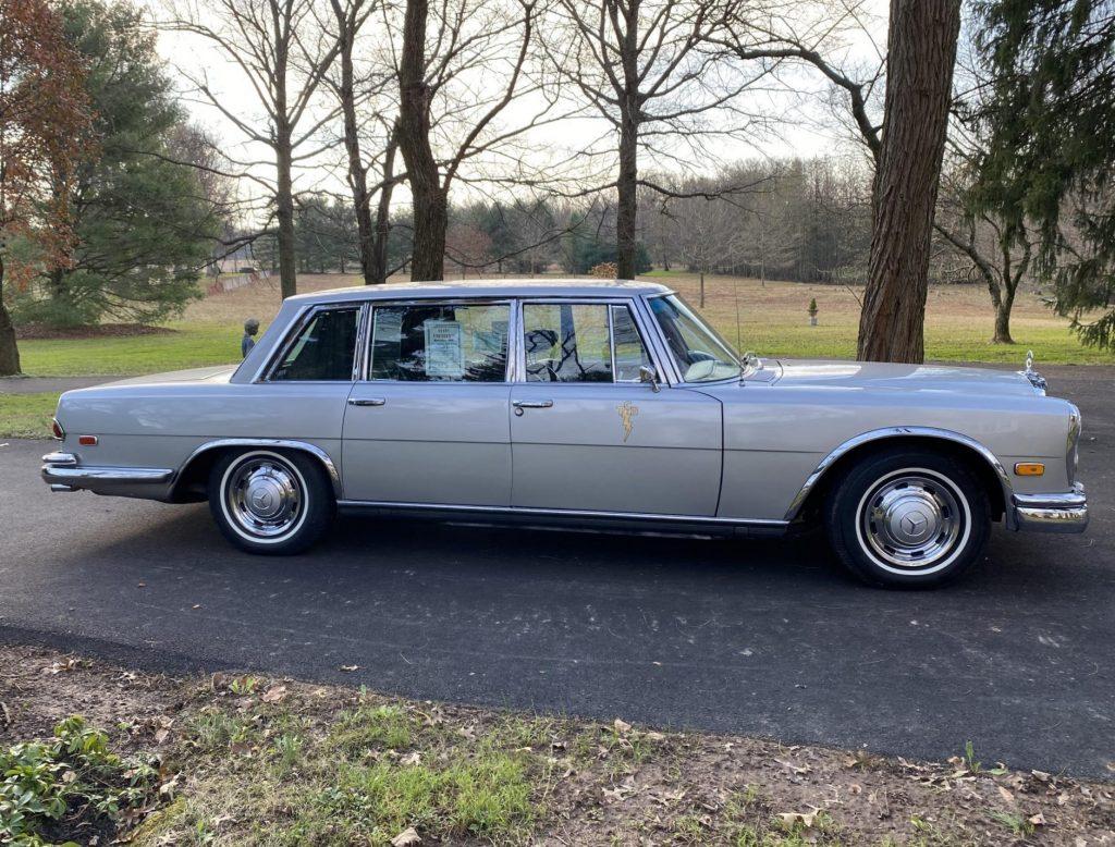 1969 Mercedes-Benz 600 - ELVIS - Full passenger profile
