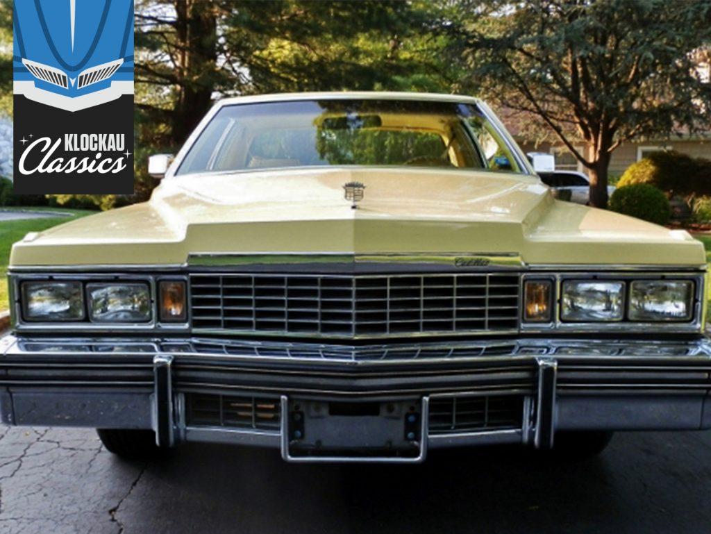 1977 Cadillac Coupe de Ville Klockau Classics featured banner