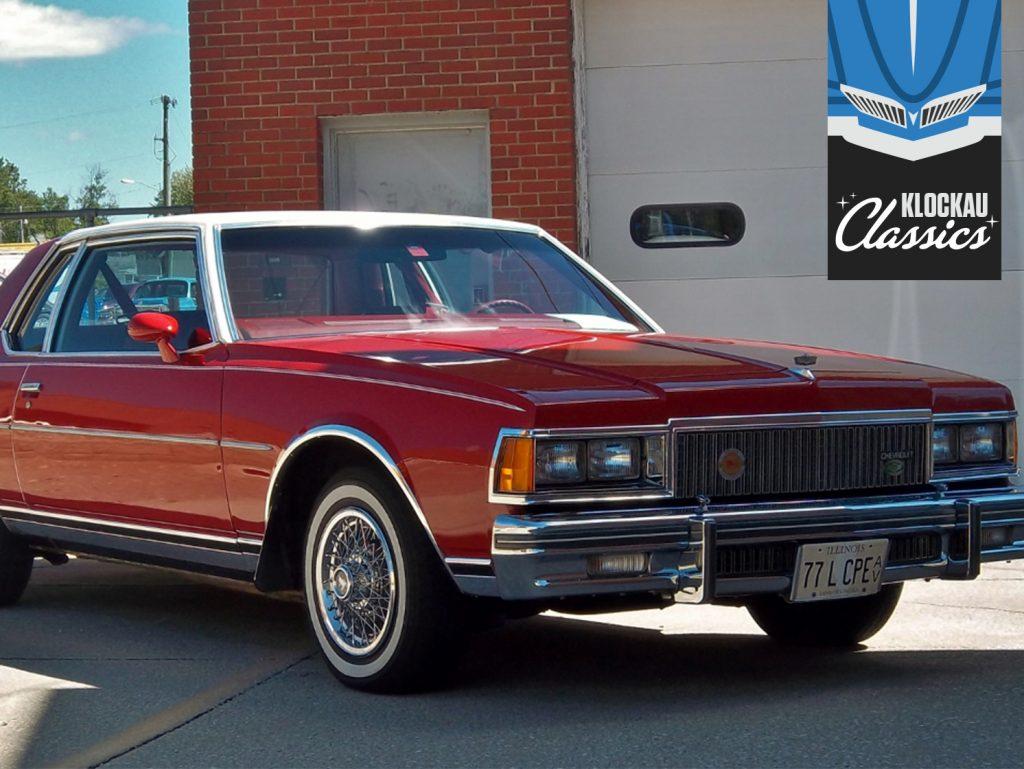 1977 Chevrolet Caprice Classic Landau Klockau Classics