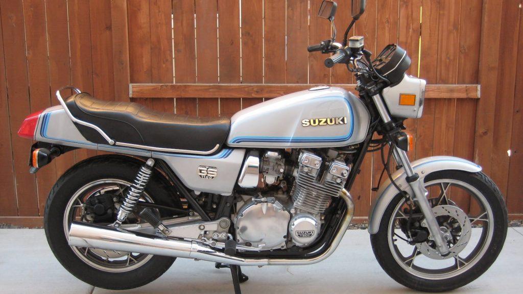1980 SUZUKI GS1100E side profile