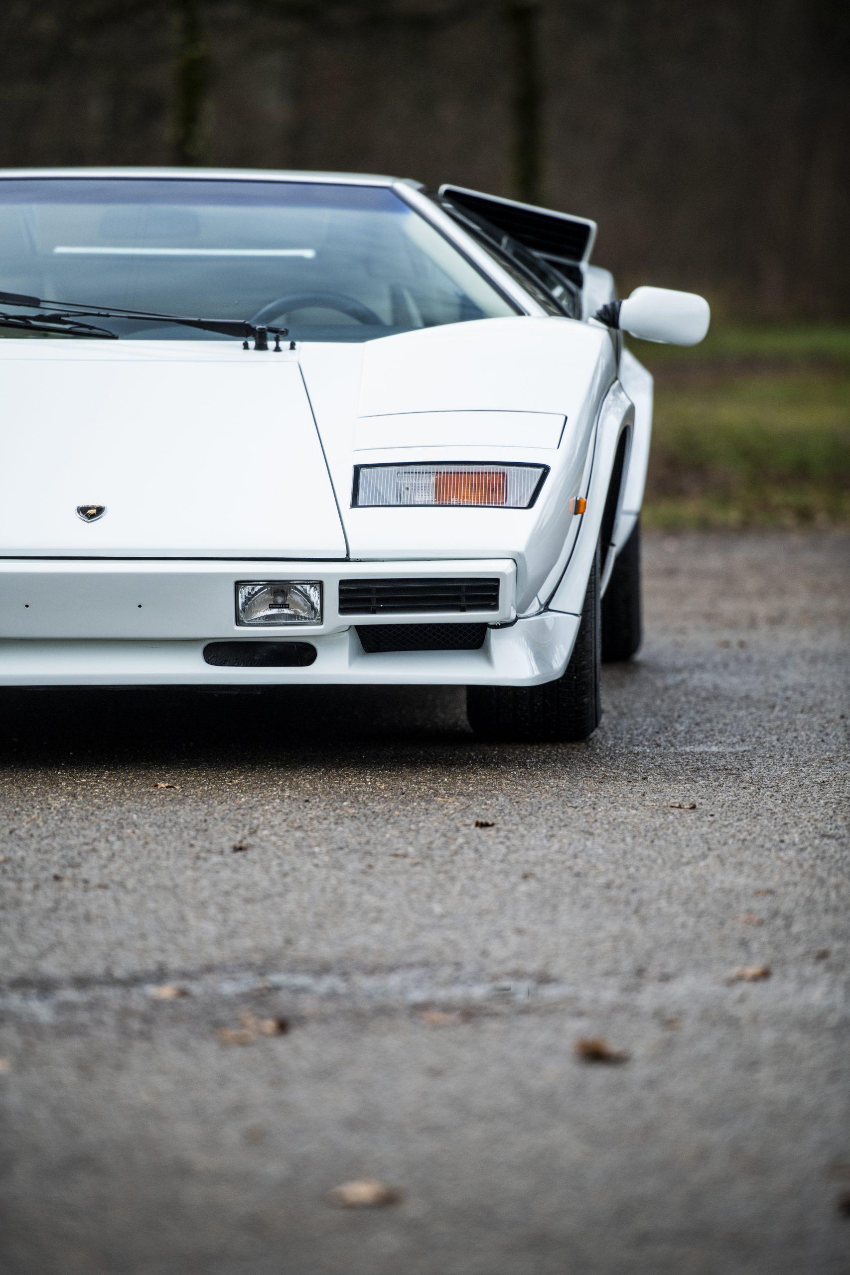 1984 Lamborghini Countach LP500 S by Bertone front side half