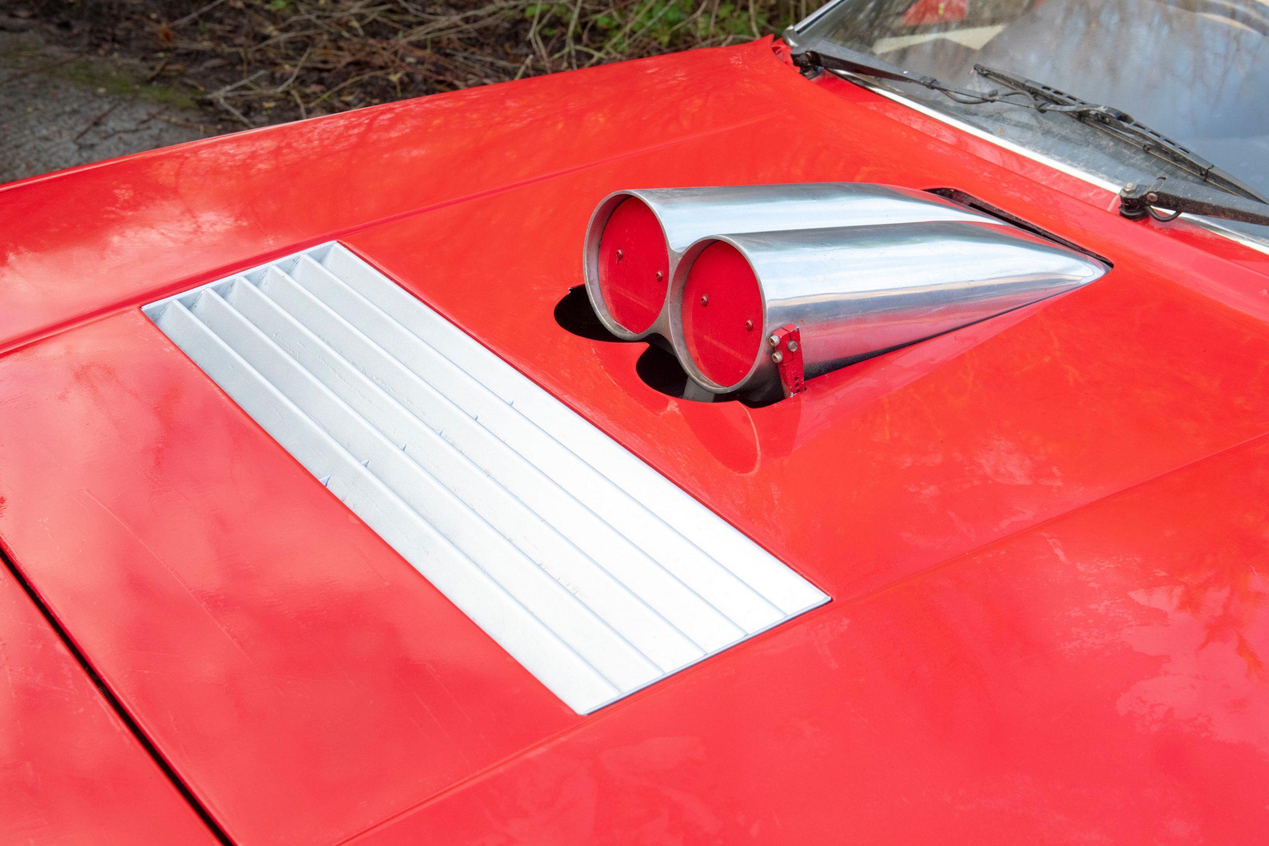 1985 Ferrari 412 Custom Pickup hood intake