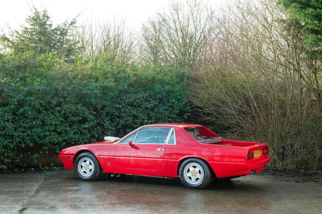 1985 Ferrari 412 Custom Pickup rear three-quarter