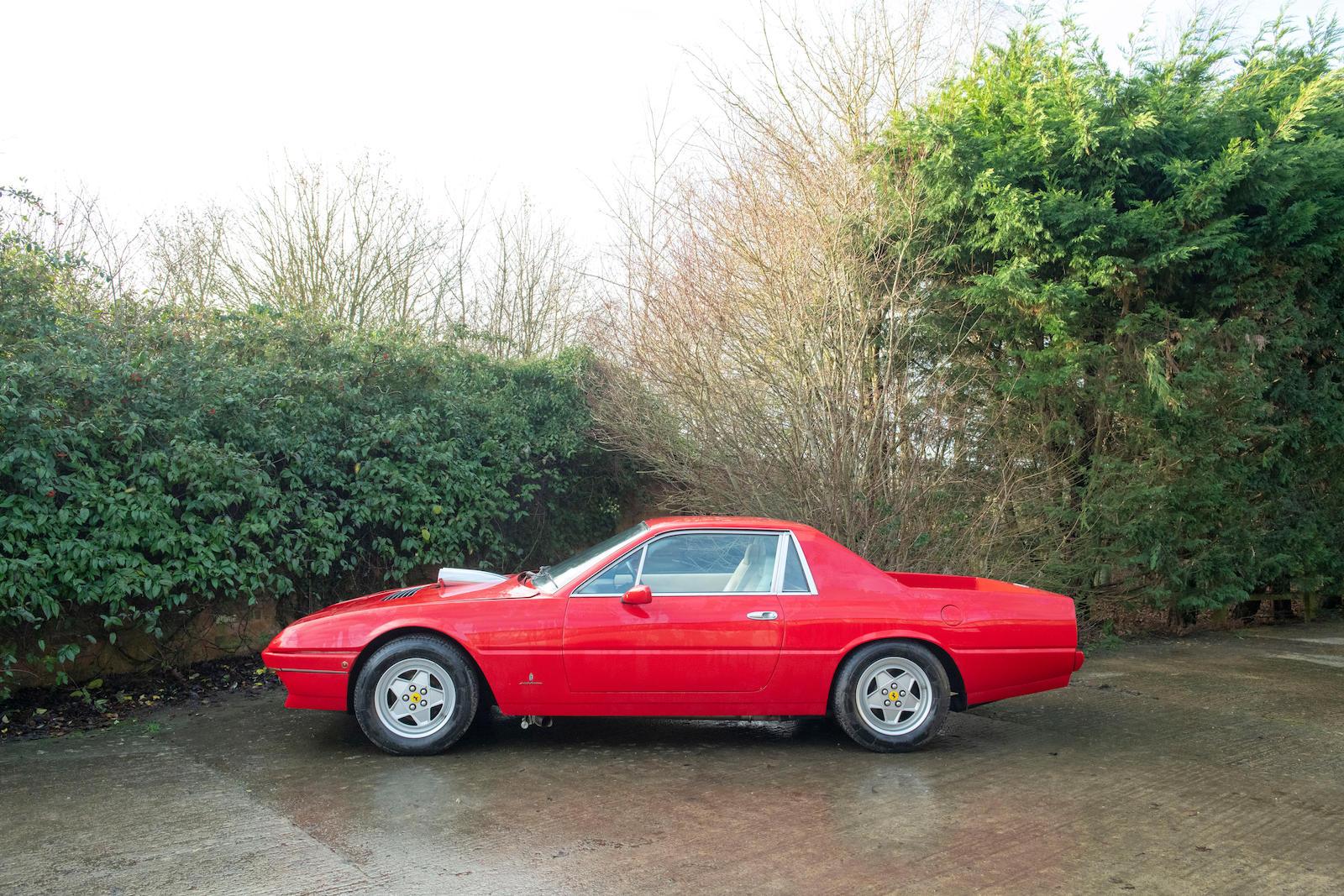 1985 Ferrari 412 Custom Pickup side profile