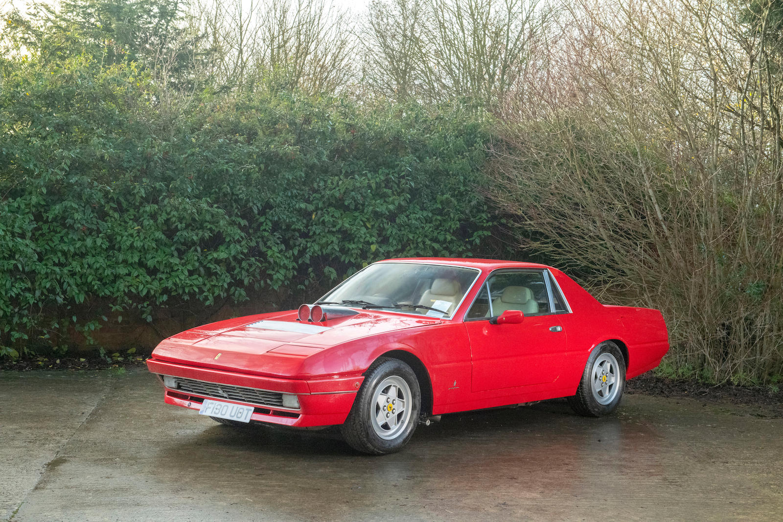 1985 Ferrari 412 Custom Pickup front three-quarter