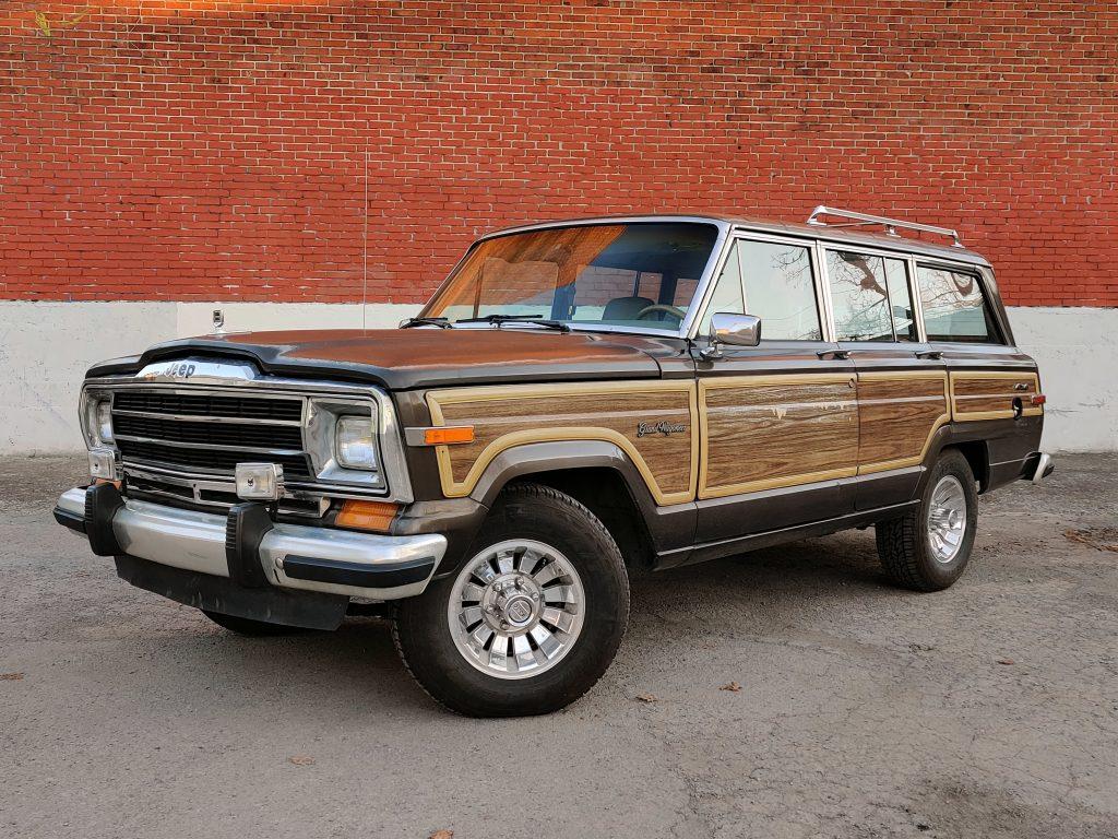 1987 Jeep Grand Wagoneer LS swap