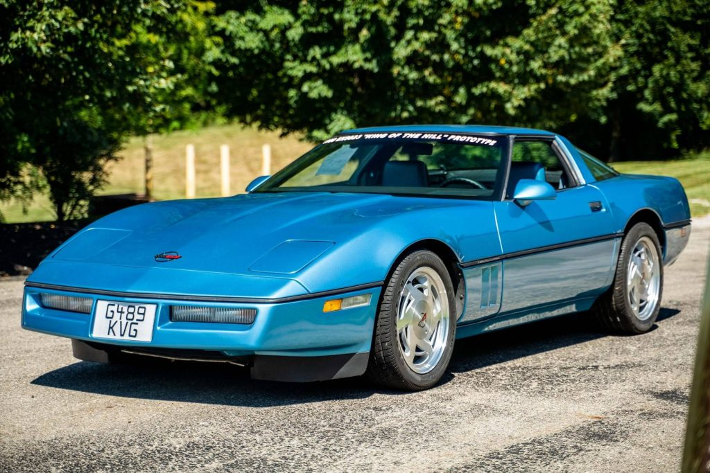 Chevy Vette King of the Hill Prototype front three-quarter