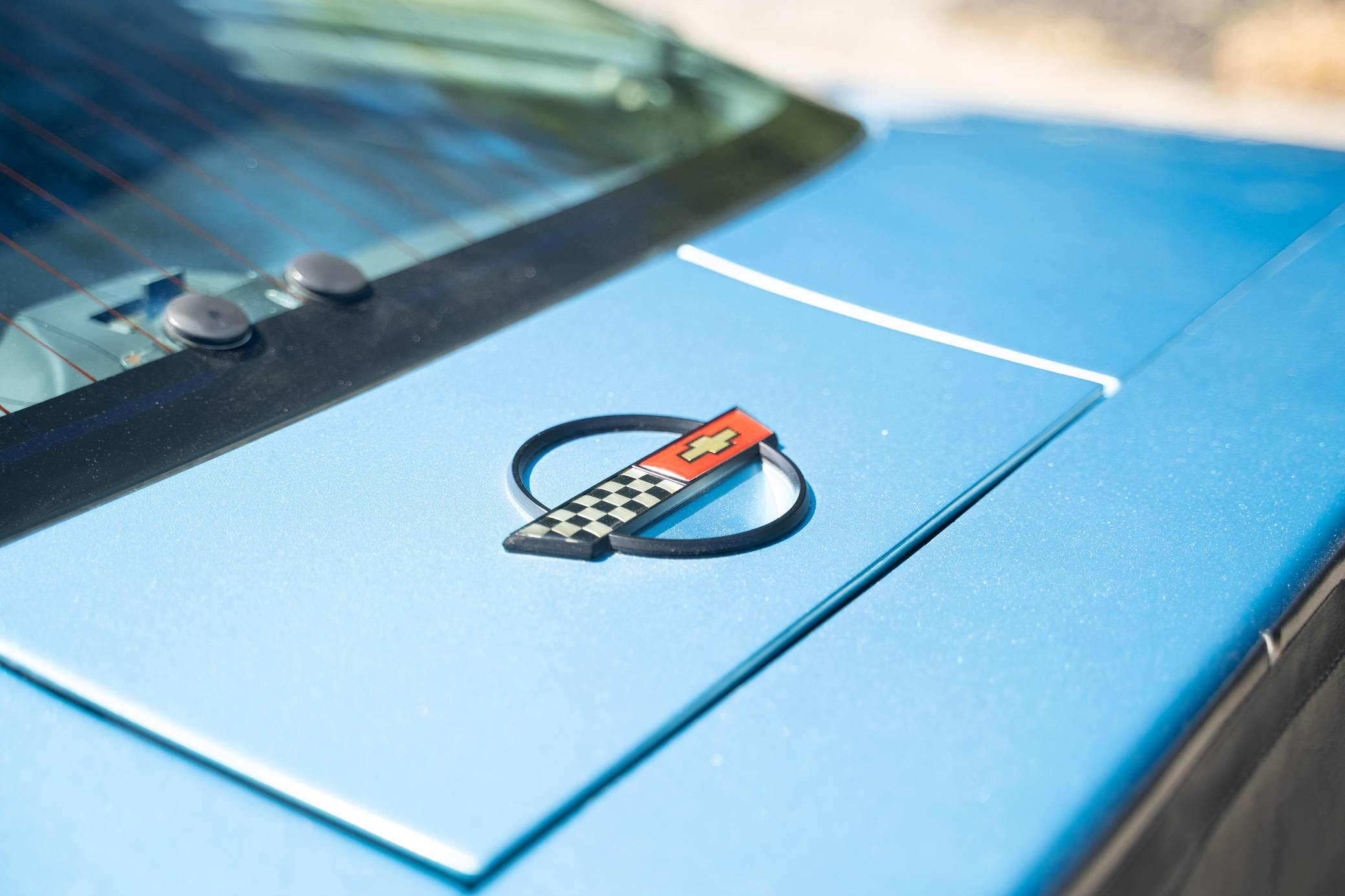 Chevy Vette King of the Hill Prototype emblem