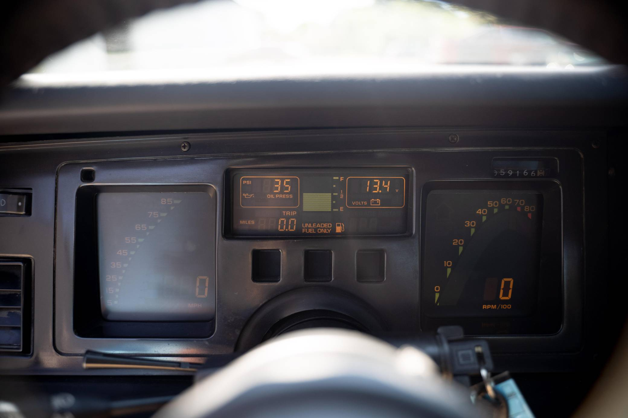Chevy Vette King of the Hill Prototype interior digital dash