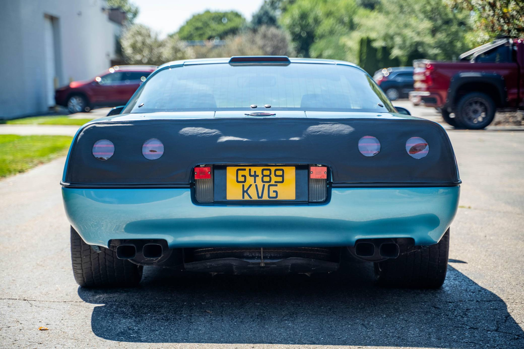 Chevy Vette King of the Hill Prototype rear