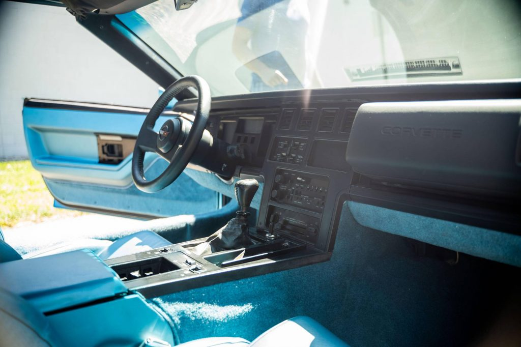 Chevy Vette King of the Hill Prototype interior front angle