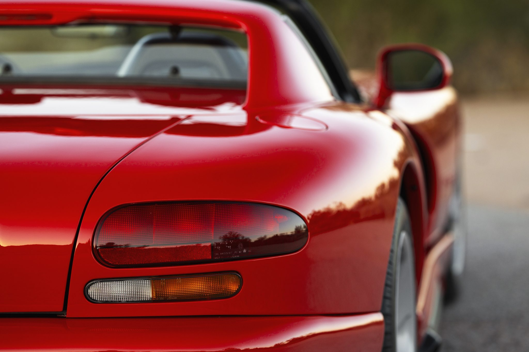 1992 Dodge Viper RT-10 rear side view close