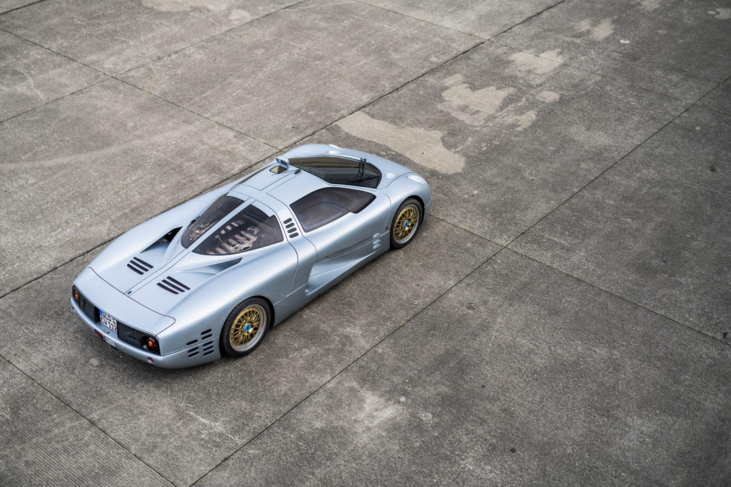 1993 Isdera Commendatore 112i elevated rear three-quarter