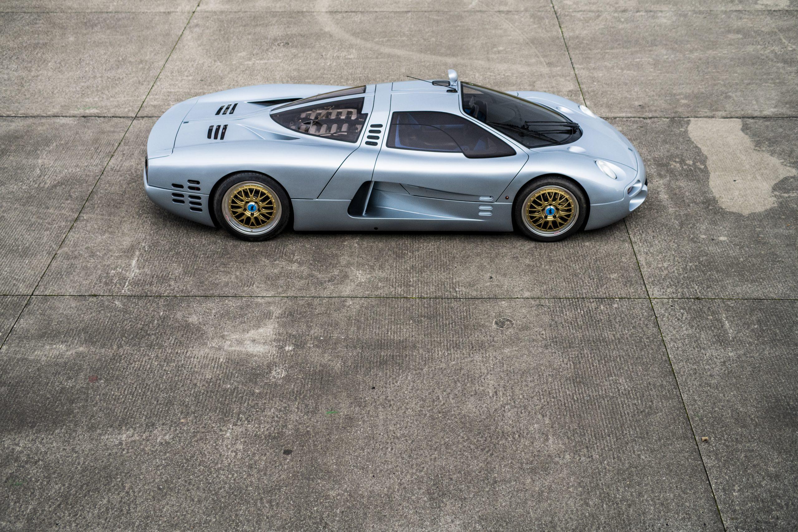 1993 Isdera Commendatore 112i elevated side profile