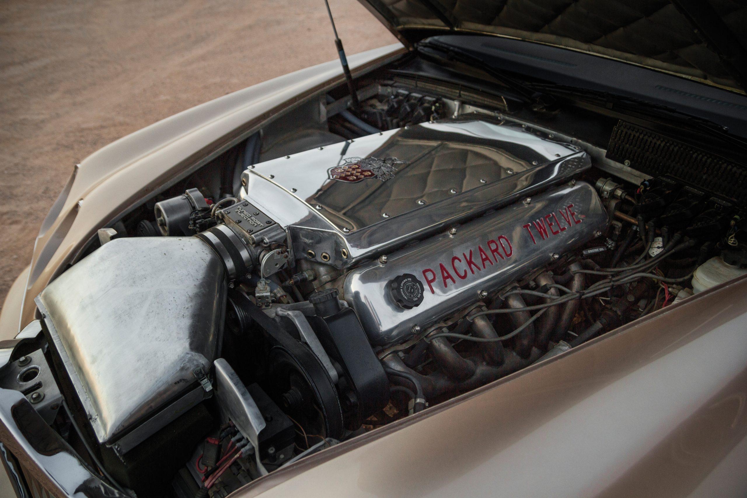 1999 Packard Twelve Prototype engine bay