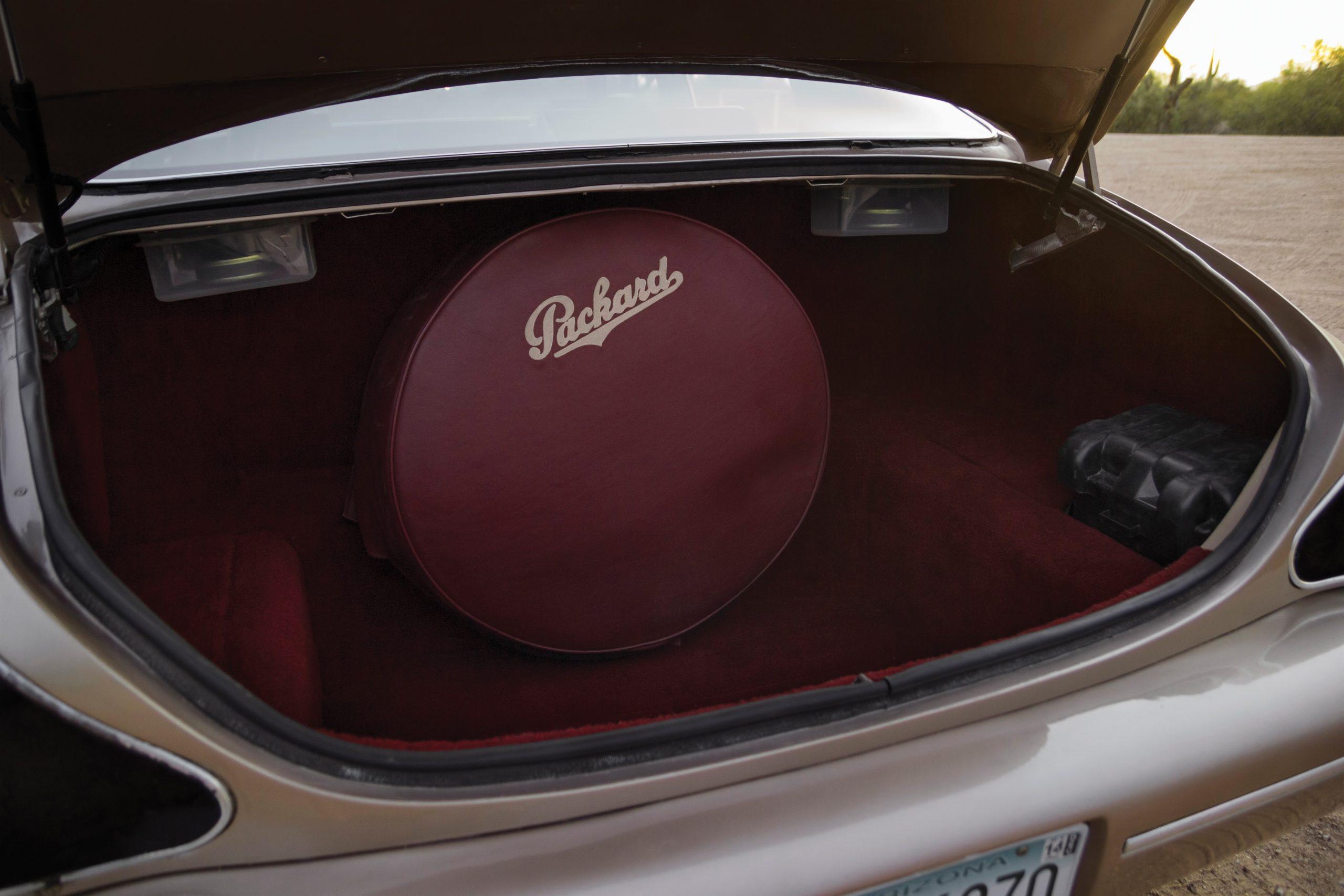 1999 Packard Twelve Prototype trunk
