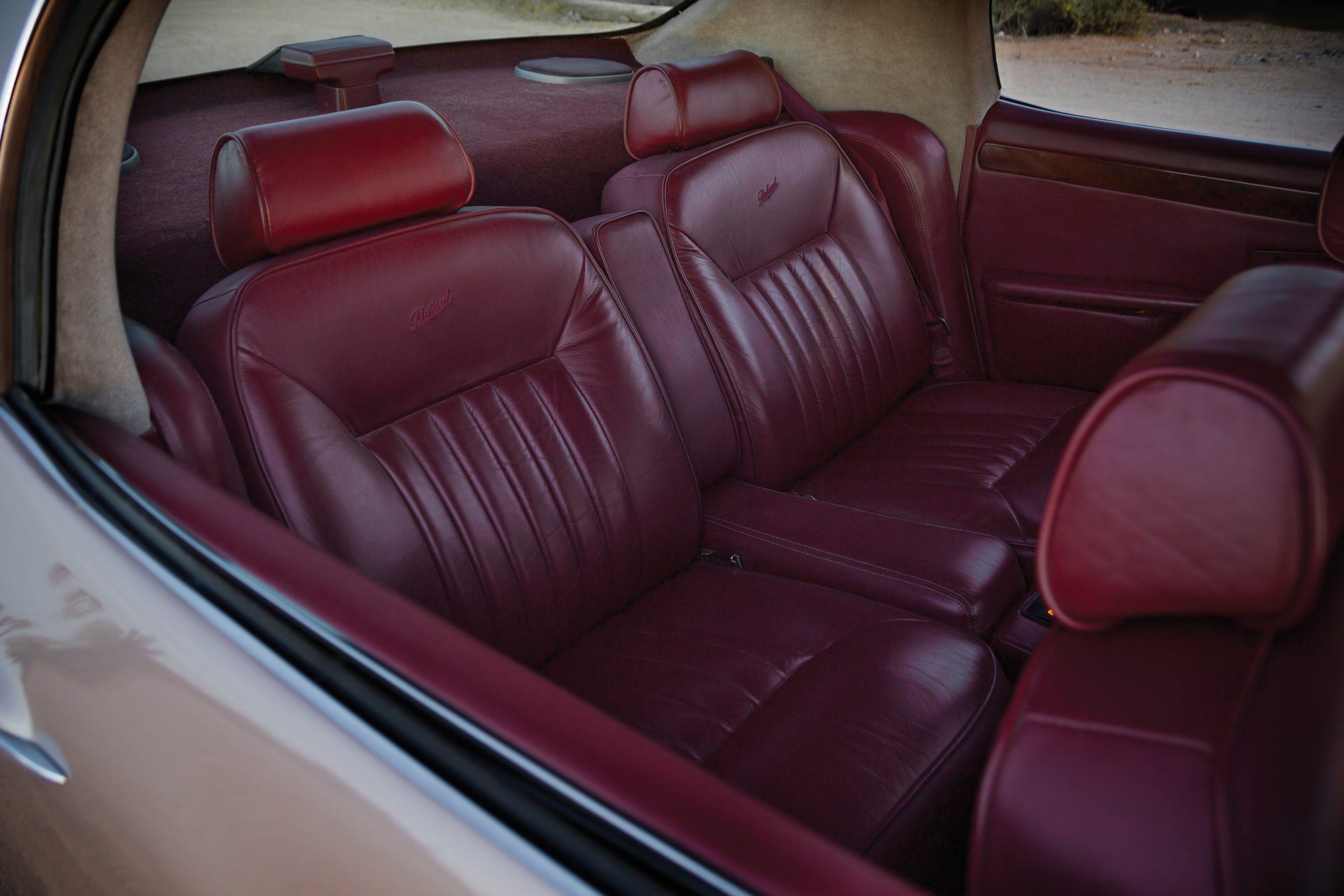 1999 Packard Twelve Prototype interior rear seats
