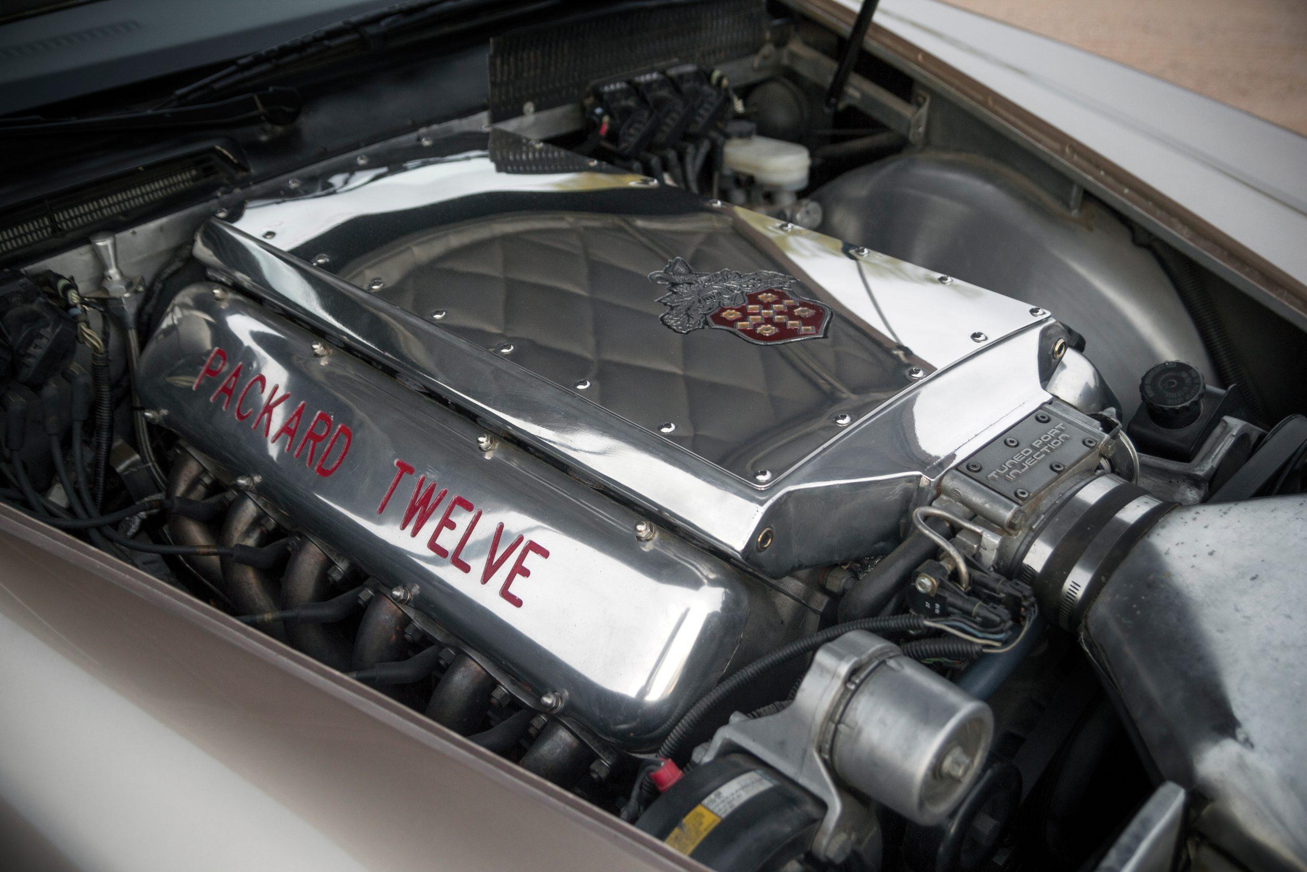 1999 Packard Twelve Prototype engine