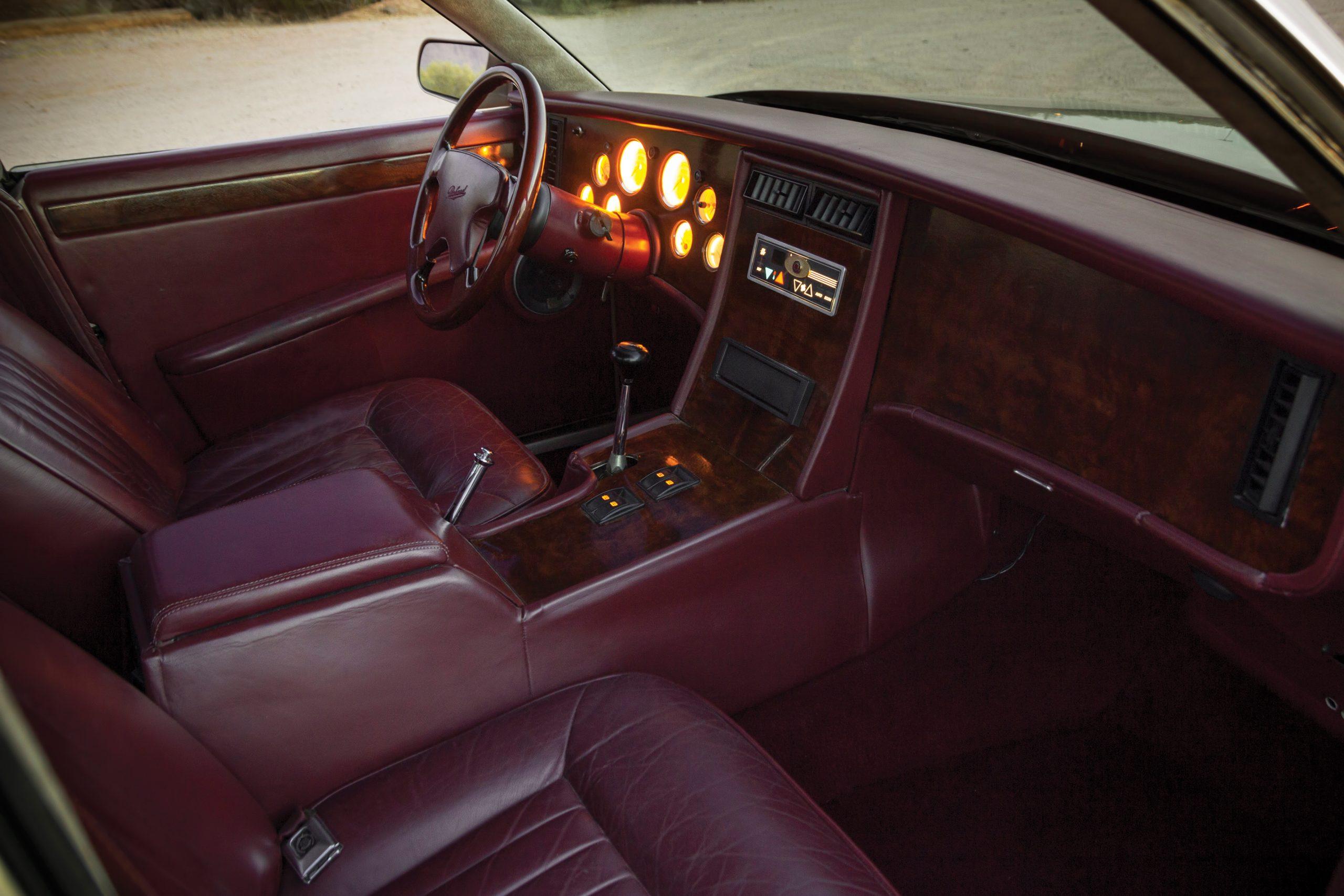 1999 Packard Twelve Prototype interior front