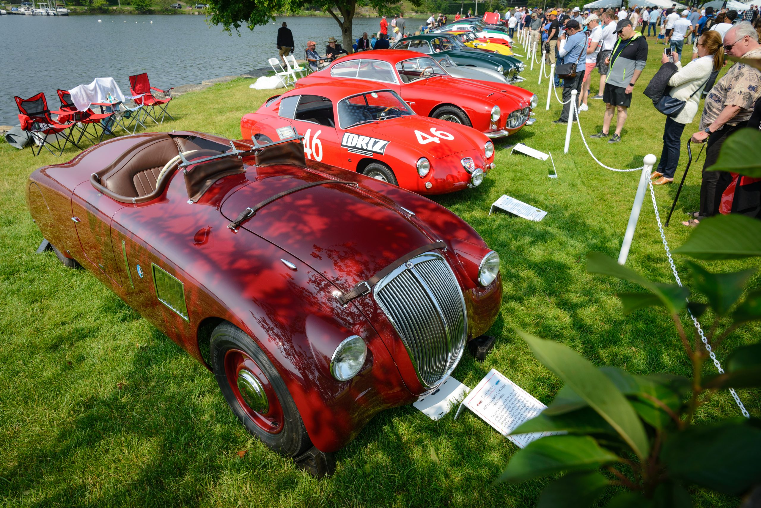 greenwich concours vintage cars