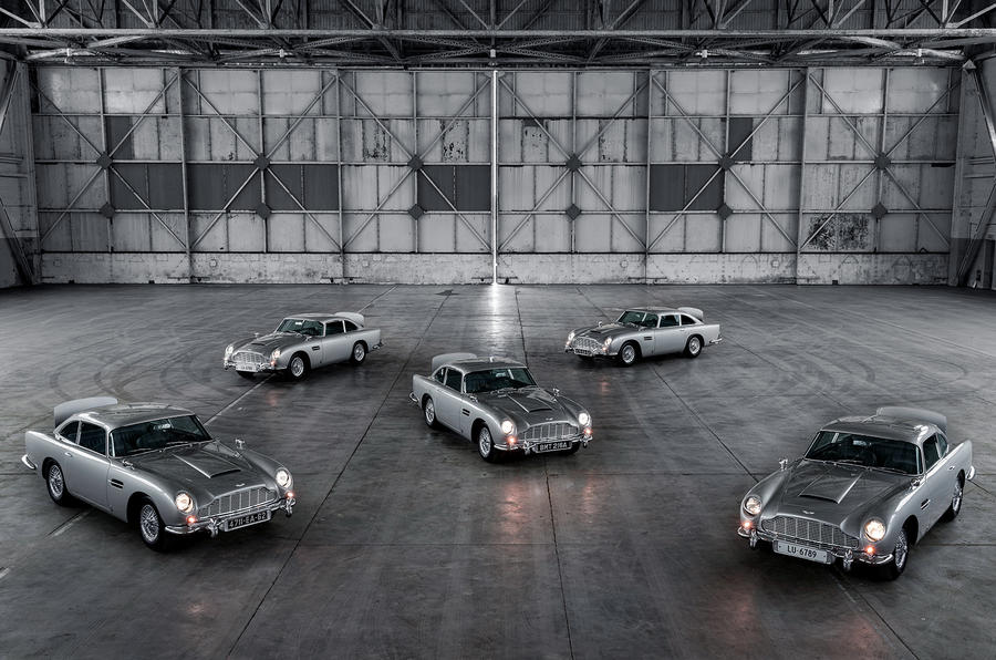 First 5 James Bond DB5s 3