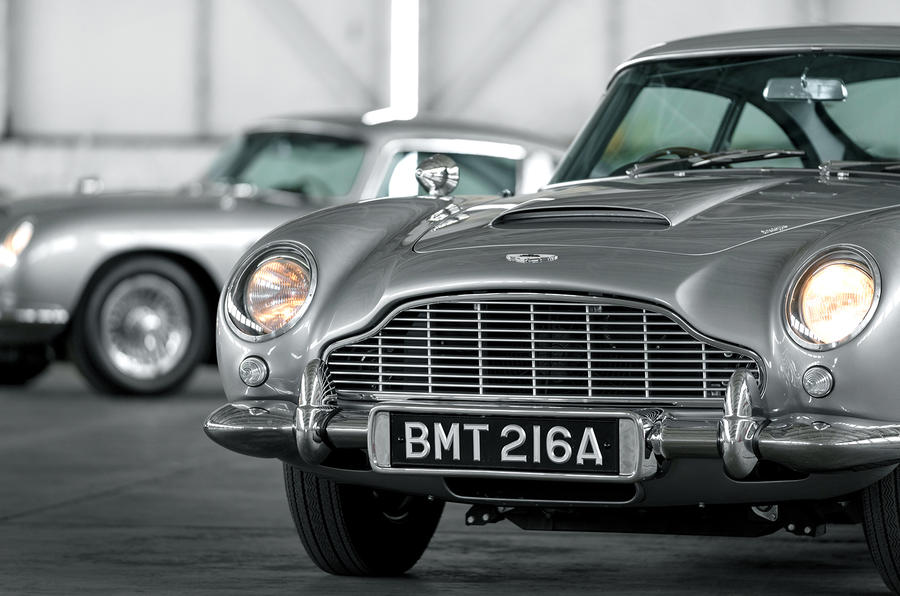 First 5 James Bond DB5s 4