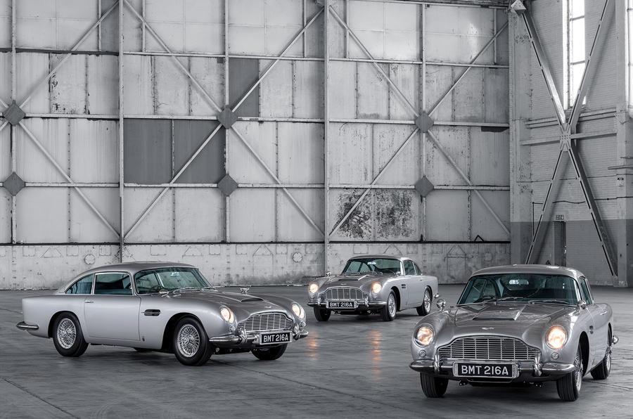 First 5 James Bond DB5s 5