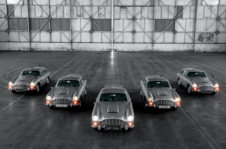 First 5 James Bond DB5s 6