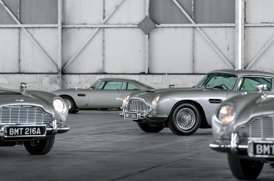 First 5 James Bond DB5s 8
