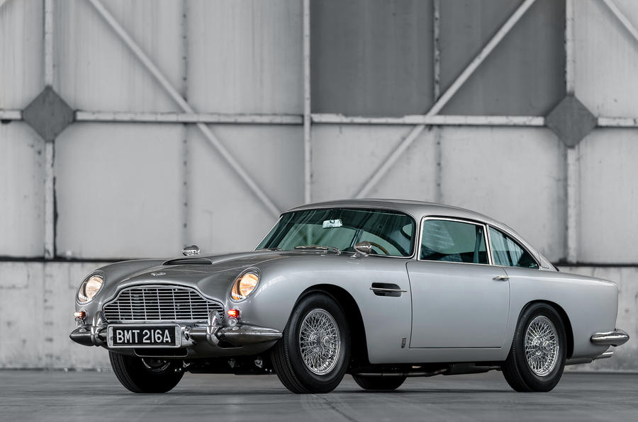 First 5 James Bond DB5s 9
