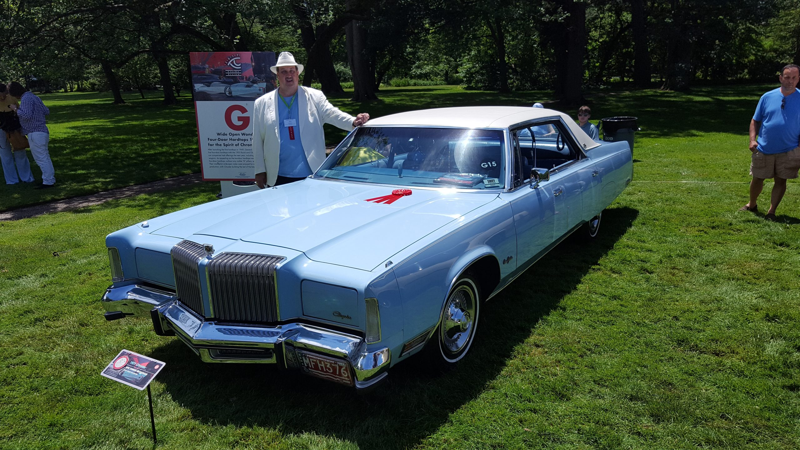 1977 Chrysler New Yorker Brougham 4 door hardtop
