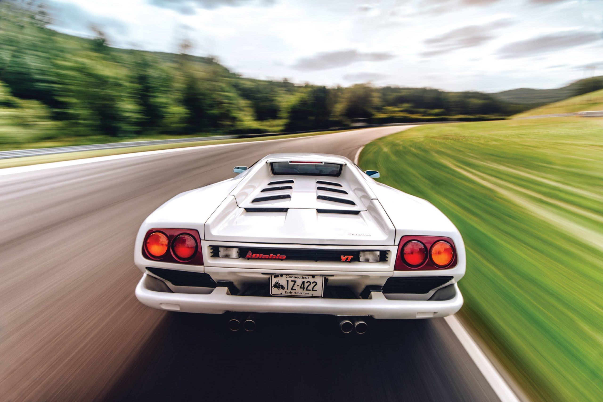 lamborghini diablo rear dynamic action