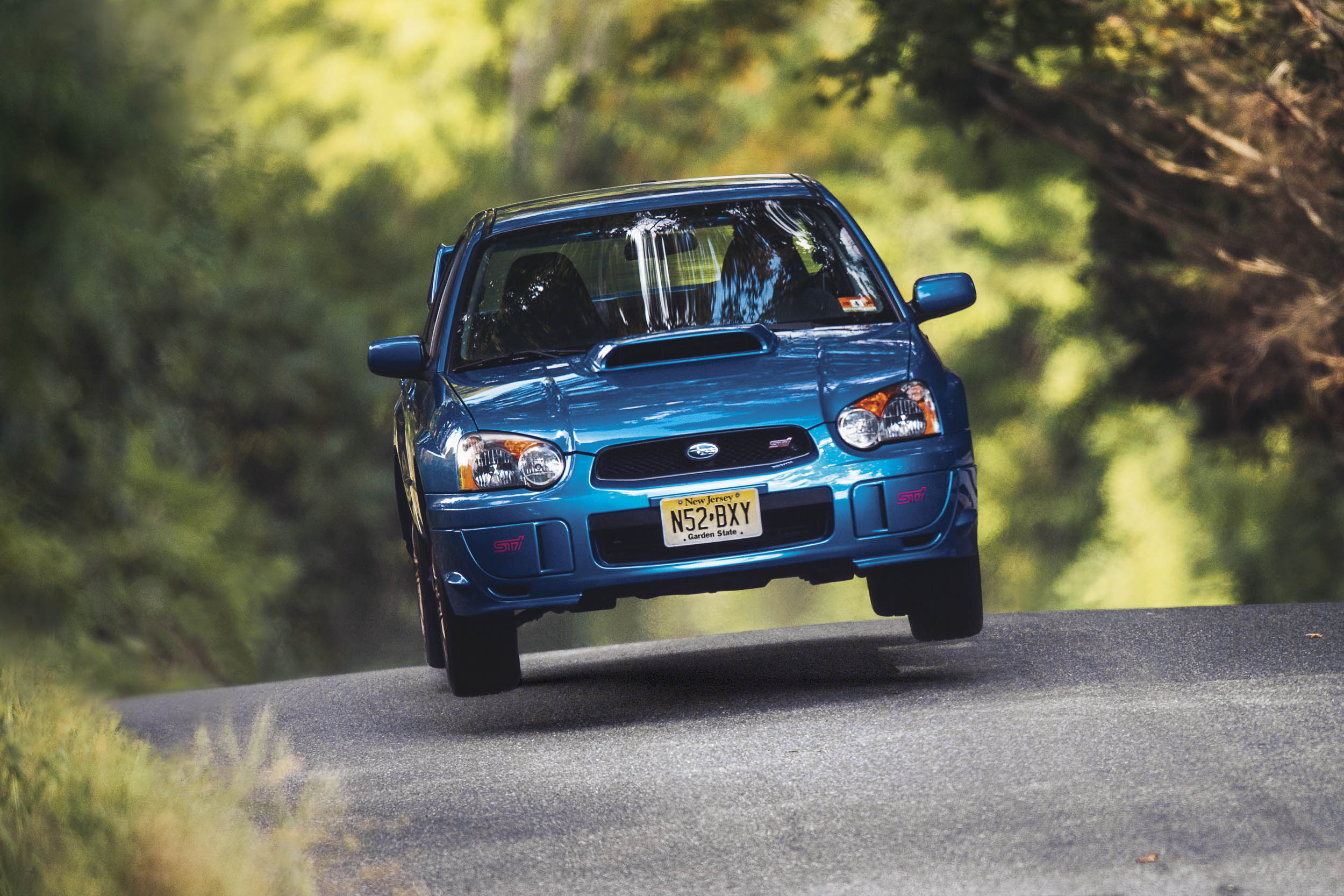 subaru impreza wrx sti front air action