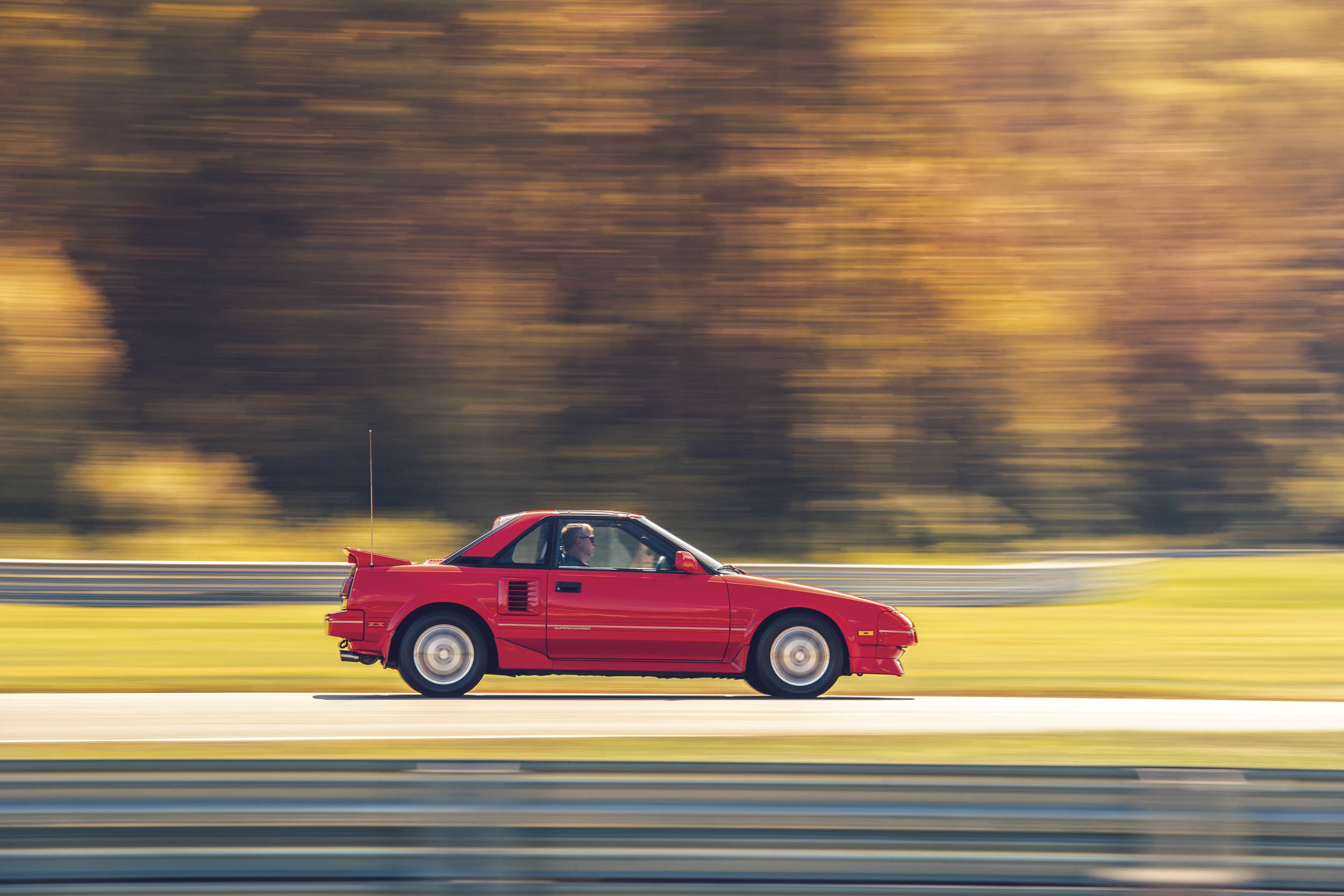 toyota mr2 side profile dynamic action