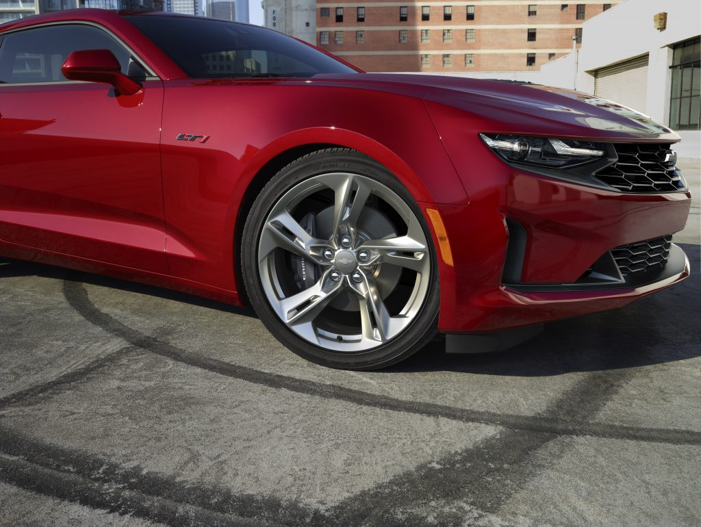An all-new 2020 Camaro LT1