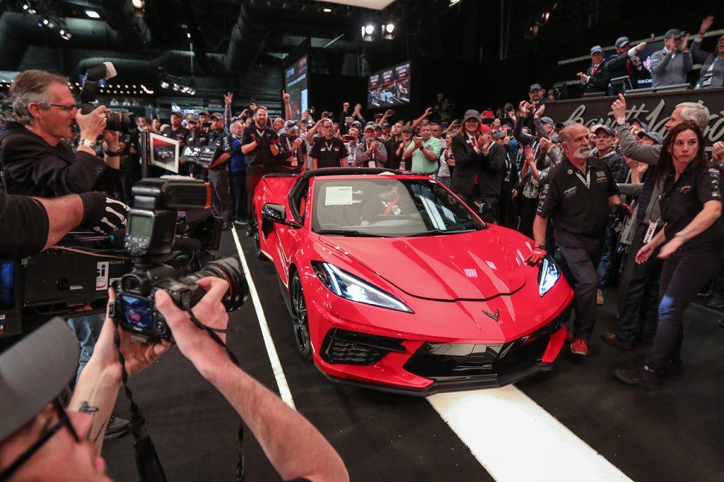 2020 barrett jackson auction scottsdale arizona c8 corvette charity