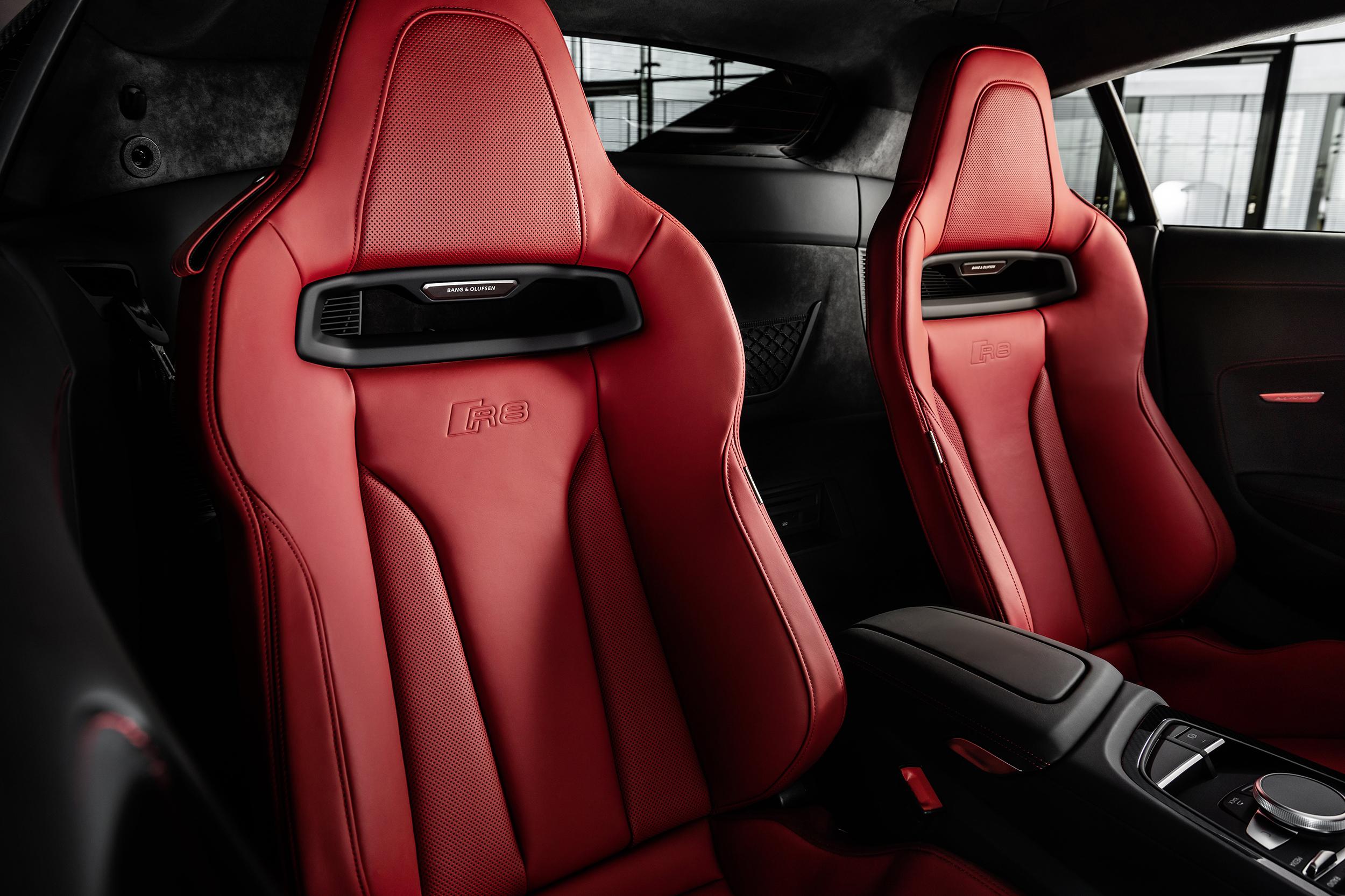 2021 Audi R8 Panther Edition interior