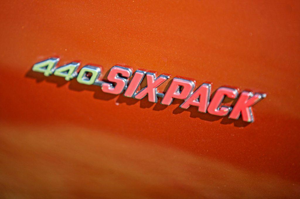 440 Six Pack Emblem