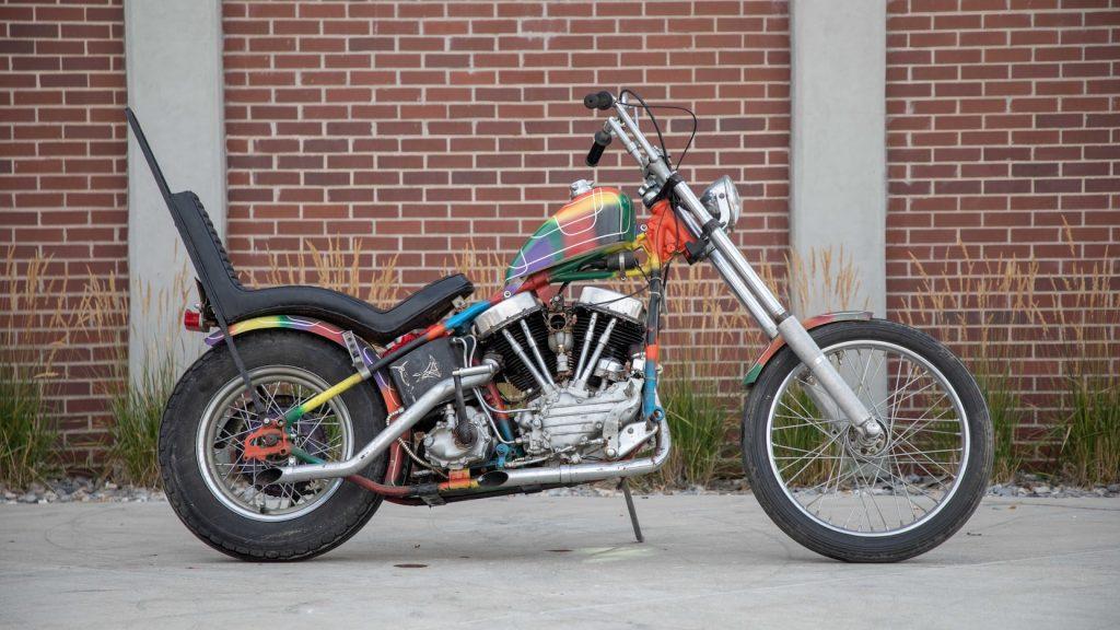 49 Harley Davidson Panhead Chopper