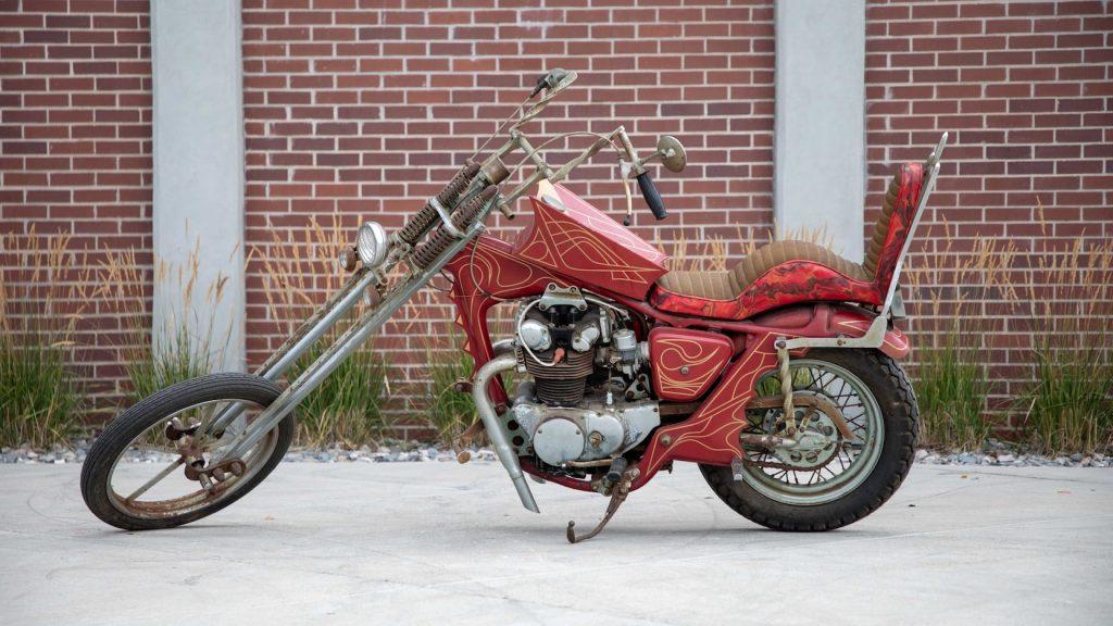 68 Honda CB450 chopper Mecum