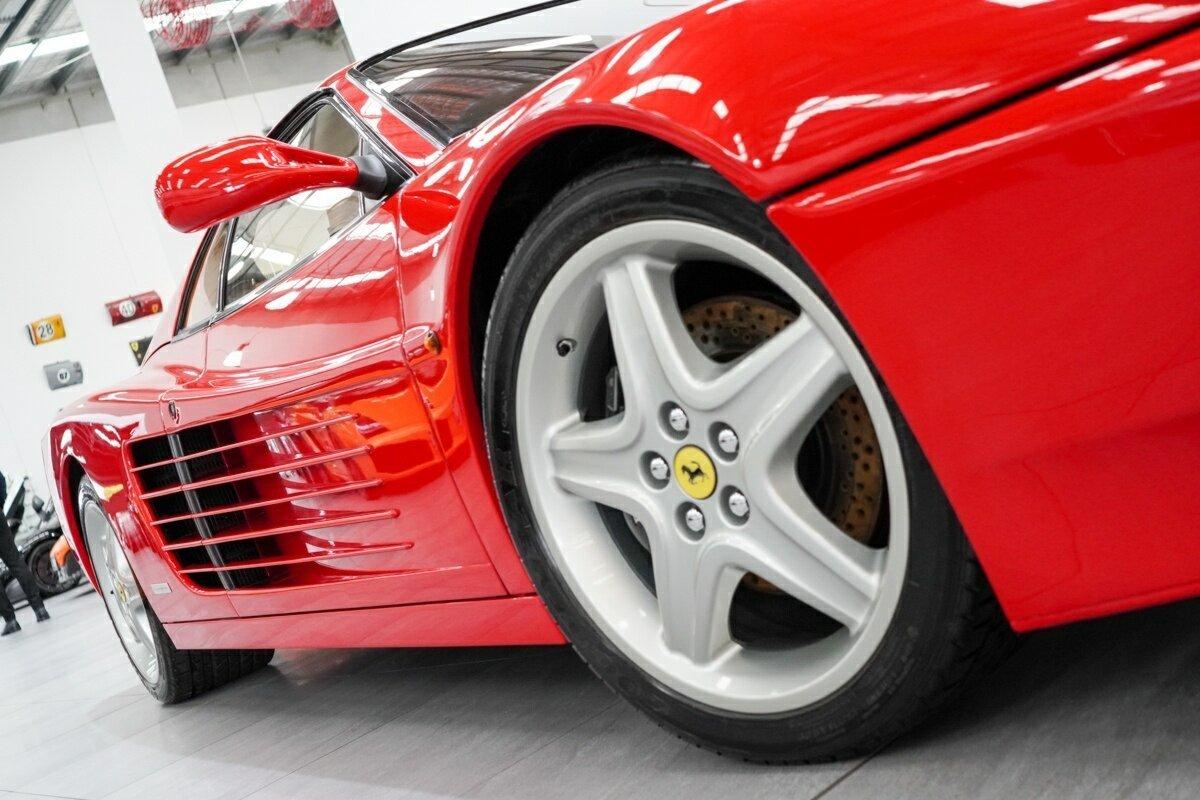 Ferrari 512TR front wheel