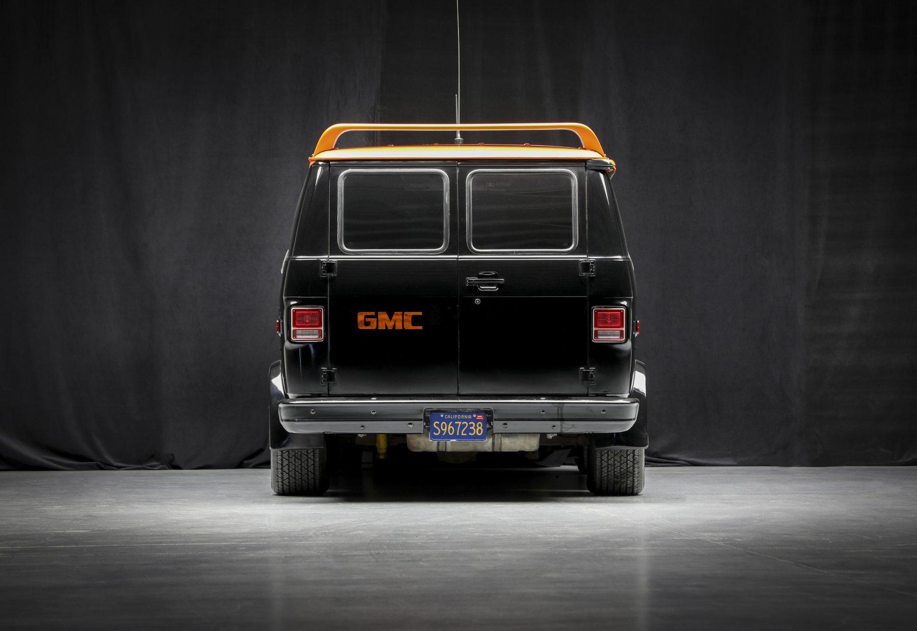 A-Team GMC G-Series 83 Van rear