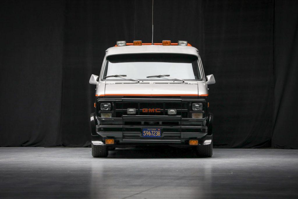 A-Team GMC G-Series 83 Van front